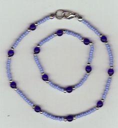 Pretty Sky Blue Cobalt American Girl Doll Jewelry 28