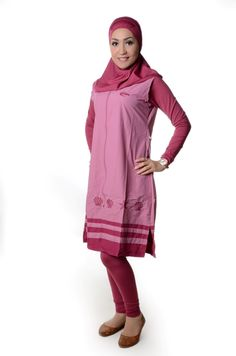 Ladies Islamic Tunic Swimsuit