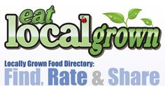 """The eatlocalgrown project was created to help you Find, Rate and Share Locally Grown Food! There are categories for Farms, Farmers Markets, Grocery Stores/Co-ops, Restaurants, Artisans and more."""
