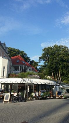 Insel Usedom. Zinnowitz.