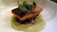 Arctic char at Spoon restaurant. Are you watching Top Chef? Read my thoughts on cheftestant John Tesar's Dallas seafood restaurant, Spoon.