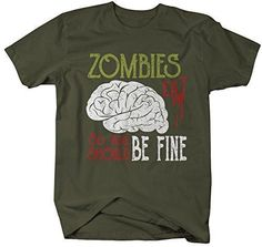 WALKING DEAD ZOMBIE T-SHIRT ZOMBIES ATE MY DADDY ASST DESIGNS 0-6 YEARS NEW