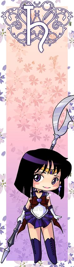 Sailor Saturn bookmark by Marc-G.deviantart.com on @deviantART not a scout but i'll put him in here to keep the series of pics going....
