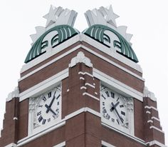 Starbucks Headquarters in Seattle!