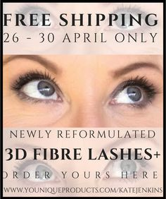Moodstruck 3D Fibre Lashes  FREE SHIPPING 26-30 April ONLY!