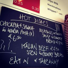 Hot dishes available