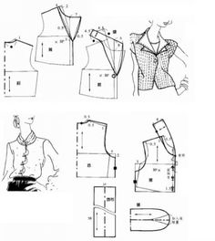 Collar Pattern, Top Pattern, Free Printable Sewing Patterns, Sewing Blouses, Neckline Designs, The White Company, Pattern Cutting, Pattern Fashion, Clothing Patterns