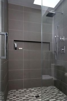 Every bathroom remodel starts with a design idea. From complete master bathroom renovations, smaller sized guest bathroom remodels, as well as bathroom remodels of all sizes. Budget Bathroom Remodel, Shower Remodel, Bathroom Renovations, Bathroom Makeovers, Bathroom Wall Decor, Bathroom Styling, Bathroom Ideas, 1950s Bathroom, Bathroom Showers