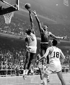 Bill Russell, Boston Celtics, is known as one of the greatest winners in professional team sports. With 11 NBA titles, it seems impossible for Kobe Bryant or anyone to match that total.  Russell was a great player and was the perfect piece to help the Celtics win all of those titles. But without the talent disparity of having multiple Hall of Famers on each of his teams compared to other franchises, it is likely he would not have won as often. Russell spoke out for Civil Rights Movement.