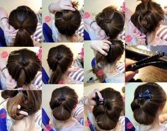 ... about HAIR on Pinterest   Victory rolls, Short hairstyles and 1940s