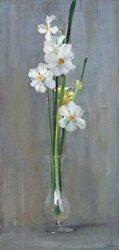 Ma Vie Secrète - narcisses in a vase