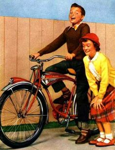 "Schwinn bicycles... my first bike but I was told by my dad that the ""S"" on the seat meant my nickname Susie!"