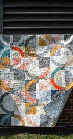 Pie, Sweet or Savory by Modern Quilt Relish, Sweet Throw - circles / rings / curves
