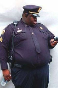 fat cop - obese policeman