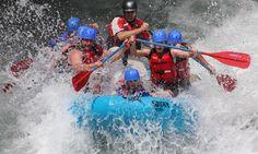 go white water rafting