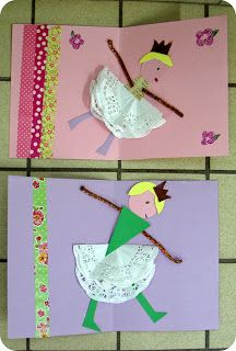 Princess Crafts, Galette, Nursery Rhymes, Little People, Art Lessons, Fairy Tales, Crafts For Kids, Preschool, Paper