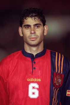 Fernando Hierro Pictures and Photos Stock Pictures, Stock Photos, Football Photos, Royalty Free Photos, Polo Ralph Lauren, Mens Tops, Image, Spain