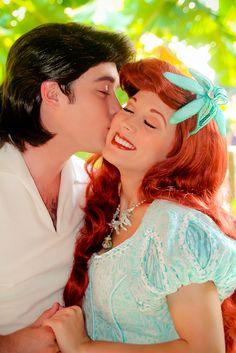 Ariel and Prince Eric | Disney Cast Members