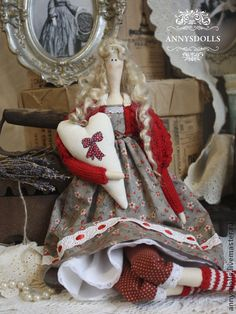 Куклы Тильды ручной работы. Ярмарка Мастеров - ручная работа Матильда. Handmade.