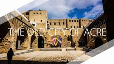 Old city of Acre - Experience Israel by drone