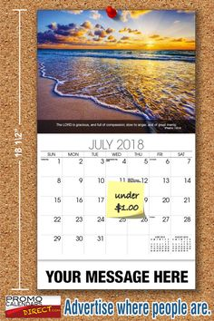 2021 Christian Faith wall calendars - low as Fundraise for your Church or School. Promote your Business in the homes and offices of people in your area every day! Calendar Themes, Calendar May, Print Calendar, Mobile Advertising, Free Advertising, Hunting Calendar, Advertise My Business, Advertising Techniques, Slow To Anger
