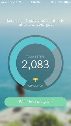 Breeze app - goal setting, will having you sign up for an amount work? treat it with the same metrics are a path?
