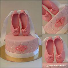Ballerine chausson ballerina cake                                                                                                                                                                                 Plus