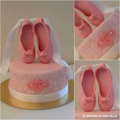 Ballerine chausson ballerina cake