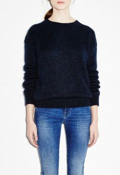 Delo Sweater - Timeless knit - Navy - MiH