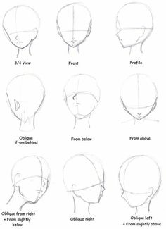 face drawing, from different angles, anime girl drawing, black and white, pencil sketch Pencil Art Drawings, Art Drawings Sketches, Cool Drawings, Music Drawings, Art Drawings Beautiful, Illustration Art Drawing, Drawing Heads, Drawing Faces, Face Proportions Drawing
