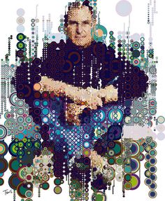 """Steve Jobs in circles...""""Life in Quotes"""" """"Creativity is just connecting things. When you ask creative people how they did something, they feel a little guilty because they didn't really do it, the just saw something. It seemed obvious to them after a while."""" ~Steve Jobs ... ;)"""