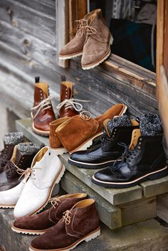 Want them all!!!  #men #style #shoes
