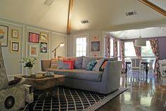 eclectic living room by Sarah Greenman | fabuloushomeblog.comfabuloushomeblog.com