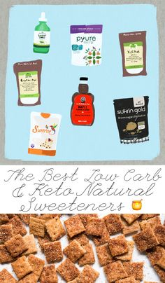 healthyrecipes ketodessert ketorecipes sweeteners sugarfree ketodiet natural lowcarb paleo best carb keto the low The Best Natural Low Carb Keto SweetenersYou can find Ketodiet and more on our website Keto Foods, Keto Food List, Low Carb Desserts, Low Carb Recipes, Keto Sweetners, Low Carb Breakfast, Keto Diet For Beginners, Low Carb Keto, The Best