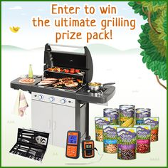 Enter to #win a new grill and #free organic beans, meats, and veggies in the Green Valley Sweet Summer #Sweepstakes!