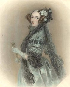 1838 Ada Lovelace, enlarged (Science Museum, London/Science and Society Picture Library) | Grand Ladies | gogm