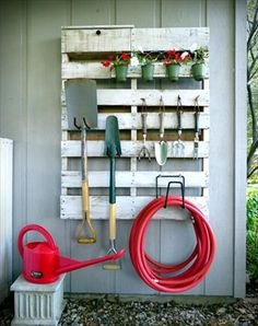We could hang a couple of these on the lean to walk to keep some tools handy at Remy.