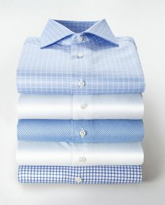 Mature Mens Fashion, Mens Fashion Suits, Tailored Shirts, Casual Shirts For Men, Mens Shirt And Tie, Gents Shirts, Formal Men Outfit, Flatlay Styling, Business Outfit