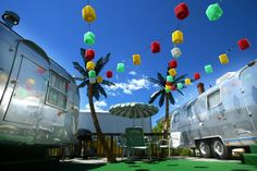 10 Retro Places In New Jersey That Will Take You Back In Time:  #6. StarLux Hotel Airstreams, Wildwood