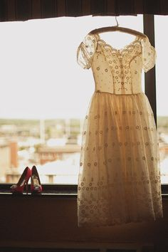 vintage dress #wedding