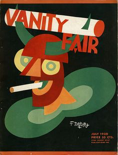 Cover by Fortunato Depero for Vanity Fair ~ July 1930 Italian Futurism Illustrations, Graphic Illustration, Graphic Art, Diesel Punk, Italian Futurism, Futurism Art, Vanity Fair Magazine, Grand Art, Design Movements