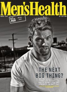 Subscriber's Cover for the March Issue with Kellan Lutz, actor from 'The Legend of Hercules'.