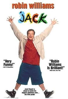 Jack (1996) wish can find this movie again for completing my favorite movie list collection. #RIP #ROBINWILLIAMS