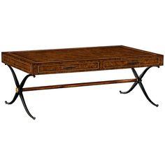 Coffee Tables, Anvil, Oak Medium, Wood, Rectangular, Jonathan Charles – Benjamin Rugs