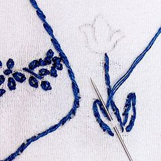 A little advice on what stitch to use when.