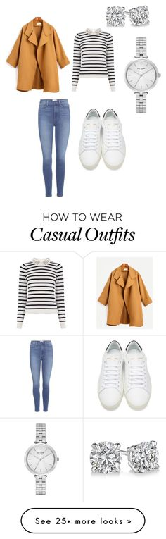 """""""Casual day out"""" by georgina-jacob on Polyvore featuring Oasis, Paige Denim, Yves Saint Laurent and Kate Spade"""