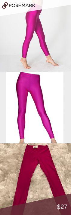 American Apparel shiny nylon leggings brand new shiny leggings! American Apparel Pants Leggings