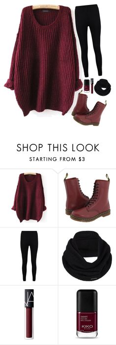 """""""🍷🍷🍷"""" by gucci-af ❤ liked on Polyvore featuring Dr. Martens, Boohoo, prAna and NARS Cosmetics"""