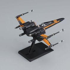 Star Wars Bandai Vehcle Model Series Plastic Model : Poe's X -Wing Fighter  #starwars #poe #xwingfighter #bandai #plasticmodel #hypetokyo