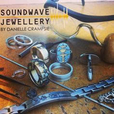 Saturday's in the studio, it's beginning to feel a lot like Xmas! Looking forward to working with some great peeps and creating  amazing pieces this month! #SoundwaveJewellery #studiolife #workinprogress #custom #dope #gold #silver #steel #jewellery #mensjewelry #soundwaves #waveformjewelry #waveformring #oneofakind #handmade
